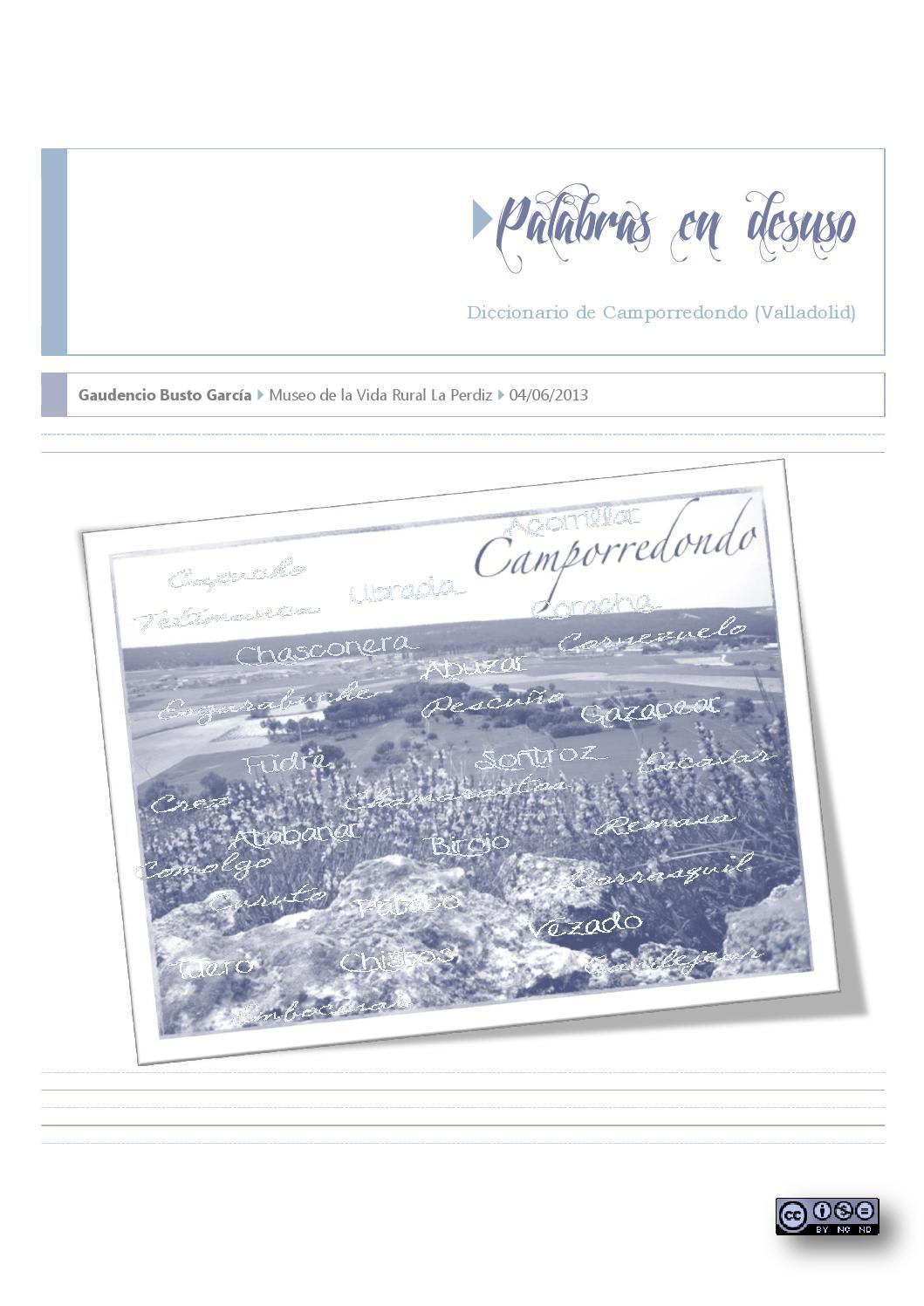 Diccionario de camporredondo (versión final revisada) by Olga Busto ...
