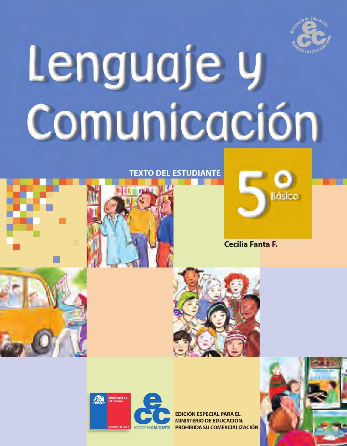 Lenguaje Y Com 5º Texto Del Estudiante By Lenguaje E Historia Rams Issuu