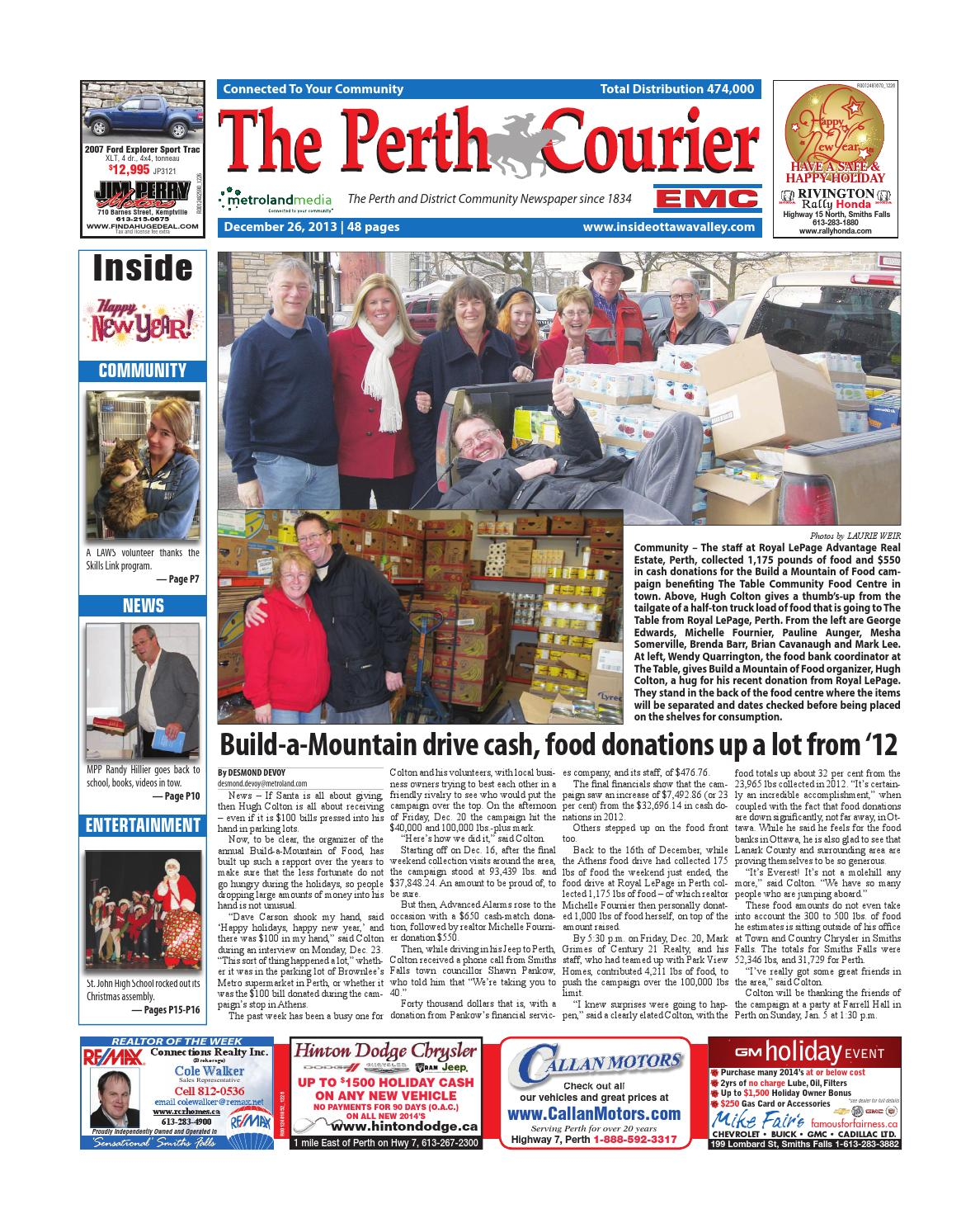 Perth122613 by metroland east the perth courier issuu fandeluxe Image collections