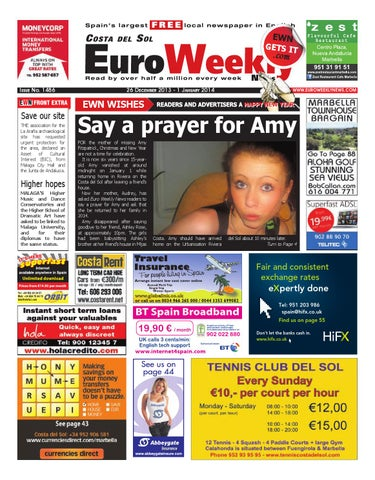 fed086d9a29 Euro Weekly News - Costa del Sol 26 Dec 2013 - 1 Jan 2014 Issue 1486 ...