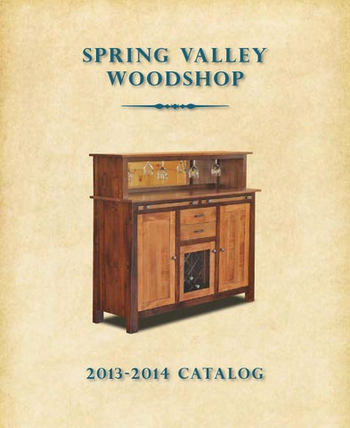 2013 Spring Valley Catalog Hutches And Buffets E G Amish