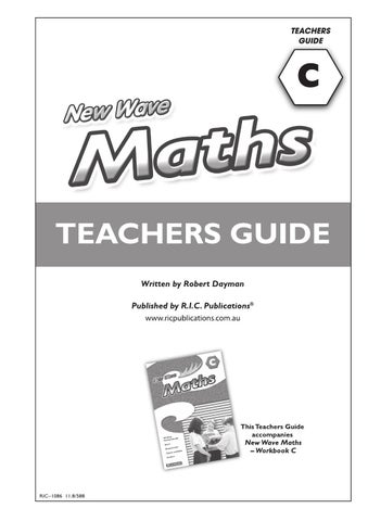new wave maths teachers guides level c ages 7 8 by teacher rh issuu com oxford countdown level 7 maths teacher guide Teaching Science