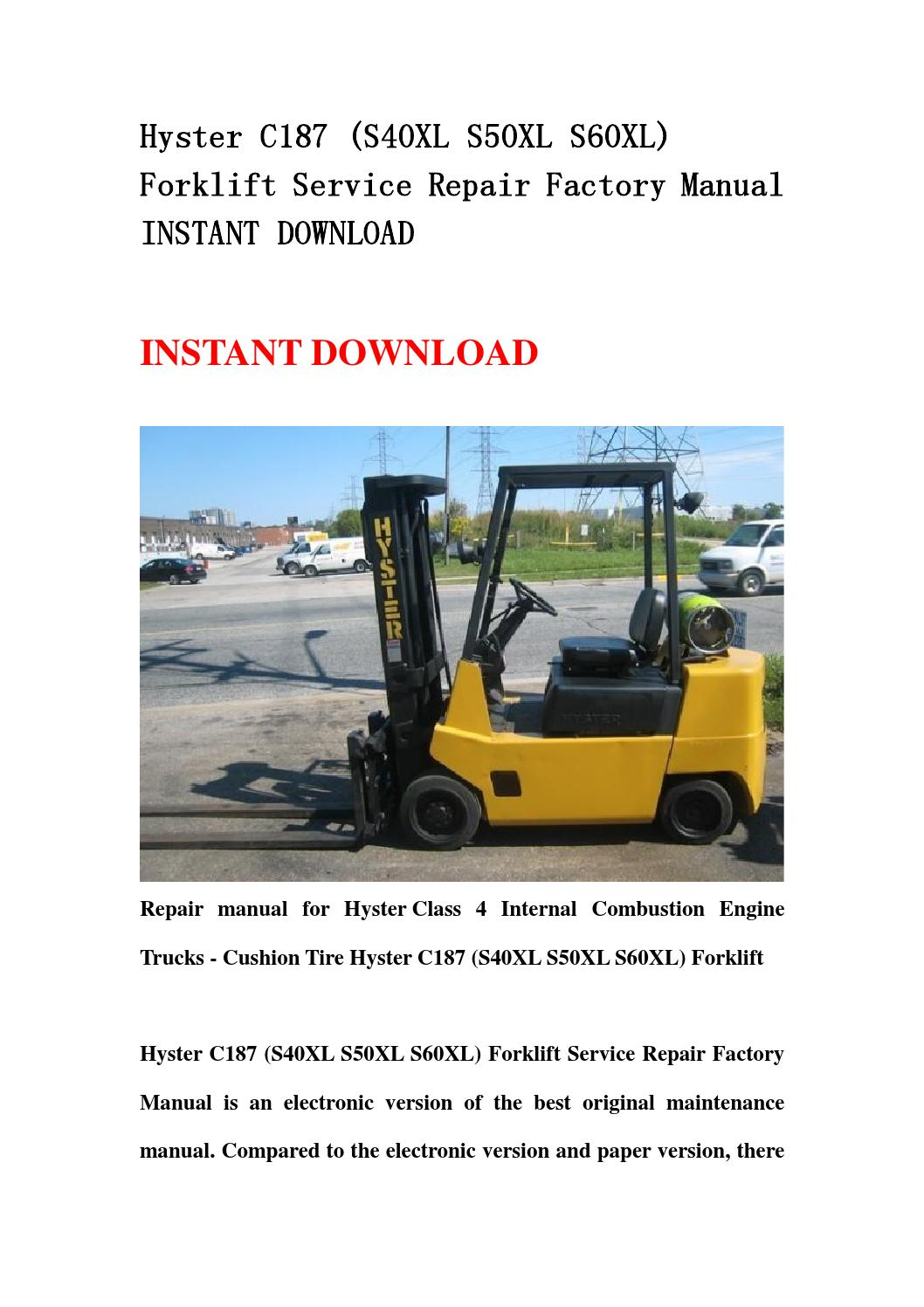 Hyster 65 Forklift Wiring Diagram Best Wiring Library