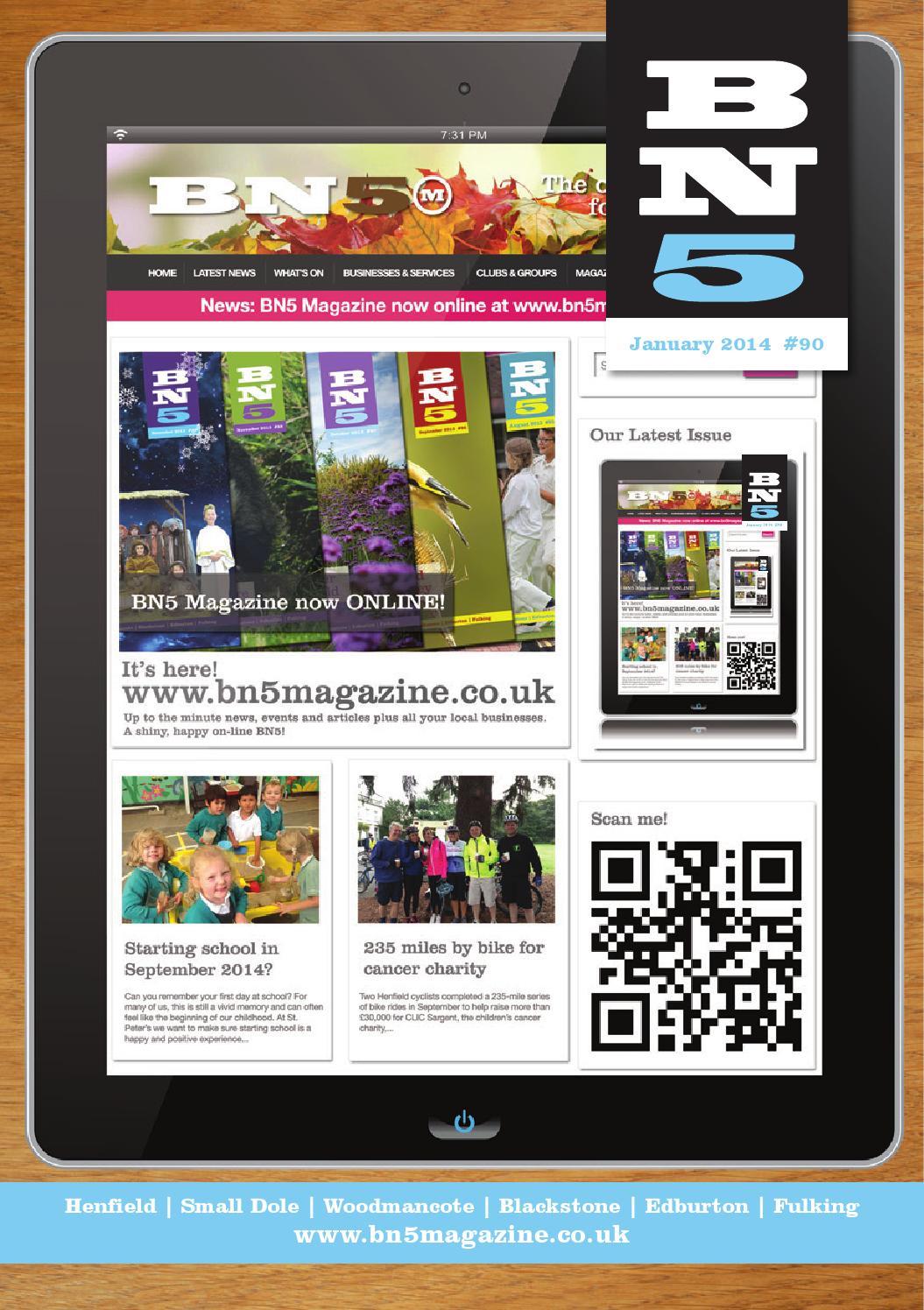 Garden Centre: Bn5 Magazine January 2014 By BN5 Magazine