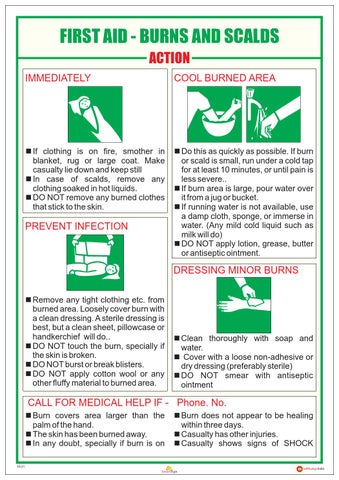 05 Catalogue Industrial Safety Charts First Aid By Smart
