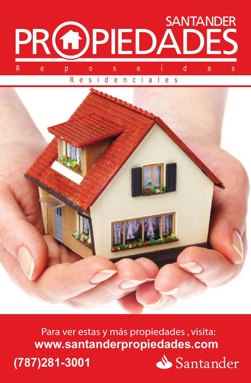 Santander Propiedades Residenciales by The Real Estate Book