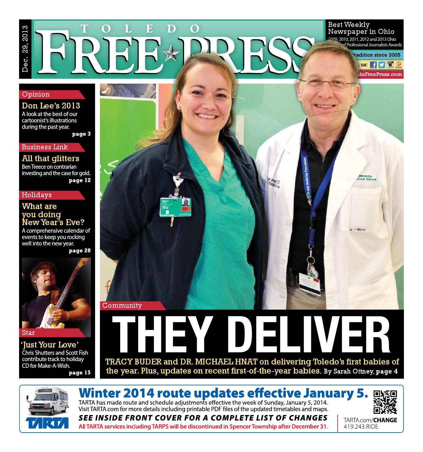Toledo Free Press Dec. 29, 2013 by Toledo Free Press - issuu