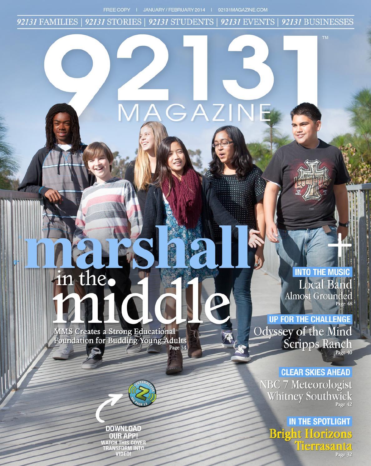 92131 Magazine - January/February 2014 by ZCode Magazines