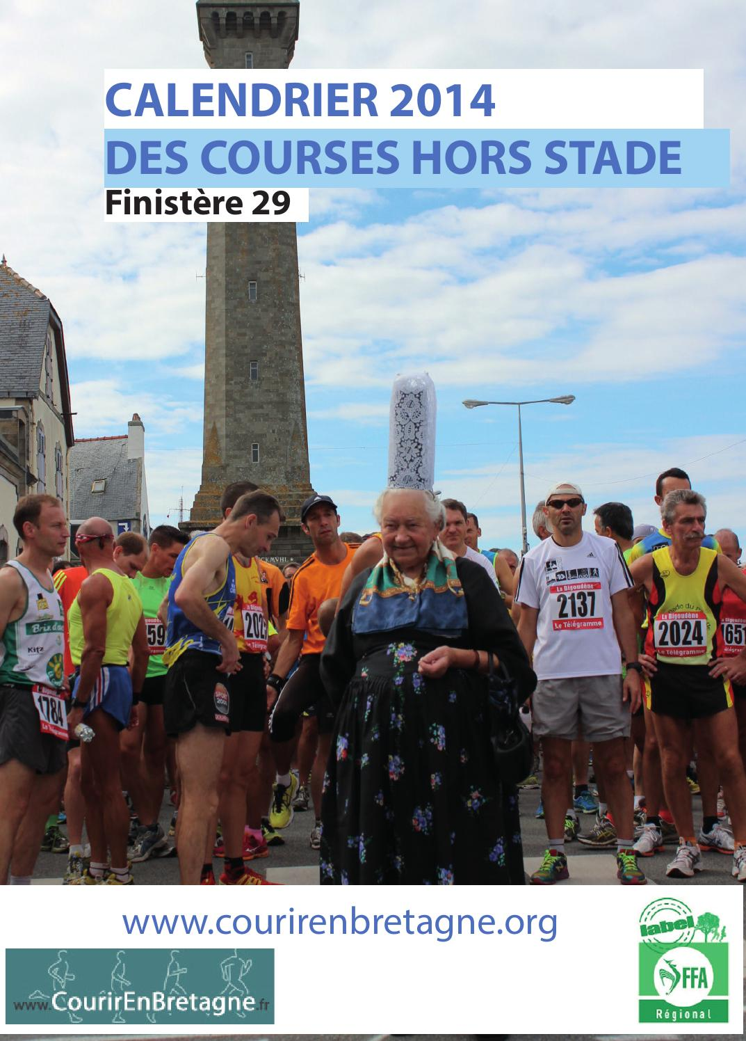 Calendrier Trail Finistere.Cdchs 2014 Calendrier Running Du Finistere By Yanoo Run