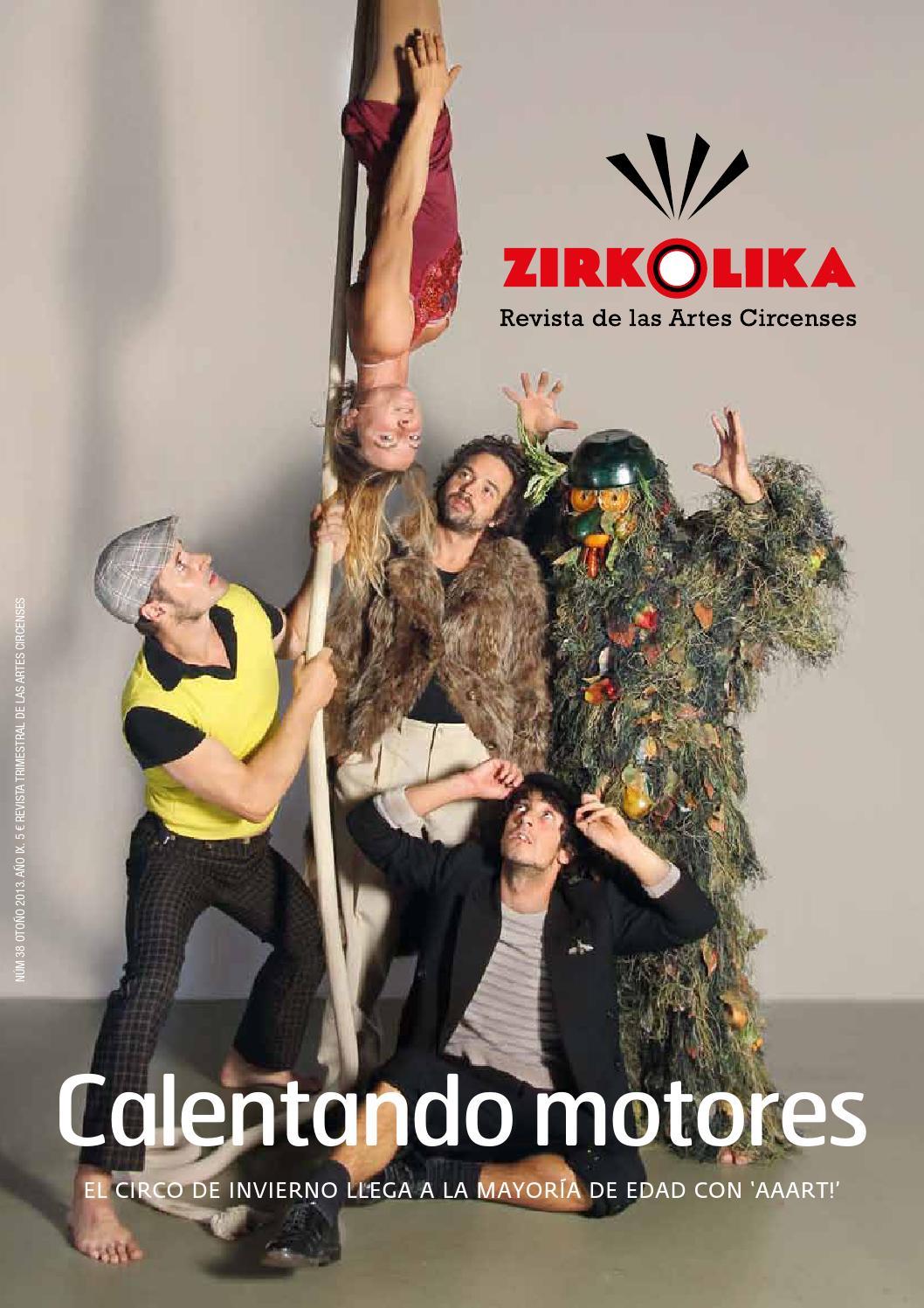 Zirkolika 38 By Zirkolika Revista Del Circo Y Las Artes