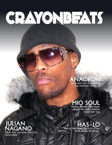 bc013758542f8 CrayonBeats Magazine  Issue 01 (Anacron cover) by CrayonBeats ...