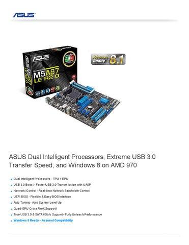 ASUS M5A97 USB 3.0 BOOST DESCARGAR CONTROLADOR