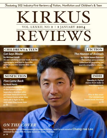 January 01 2014 Volume Lxxxii No 1 By Kirkus Reviews Issuu
