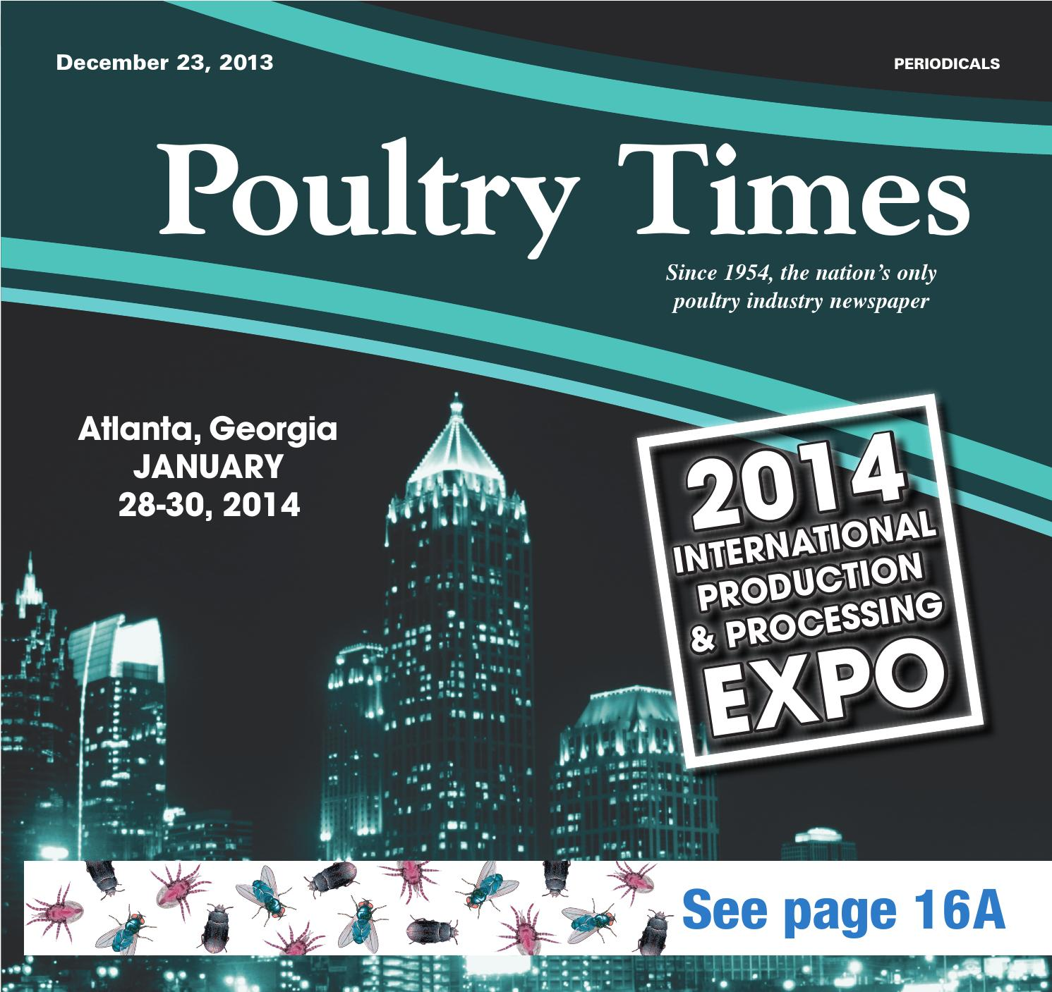 Poultry Times December 23 2013 Edition By The Issuu Electric Fuel Pump For 7076 Porsche Vw Beetle Transporter Vanagon 912