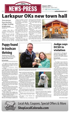 buy online d10fa 0ce64 Castle rock news press 0102 by Colorado Community Media - issuu