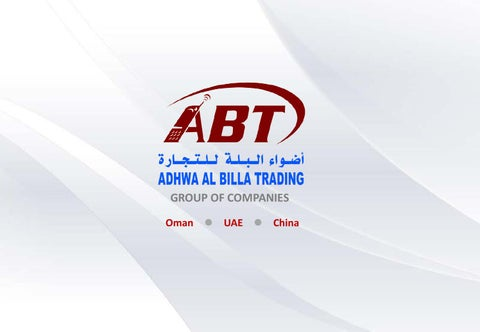 ABT Group of Companies by Oman Concept - issuu