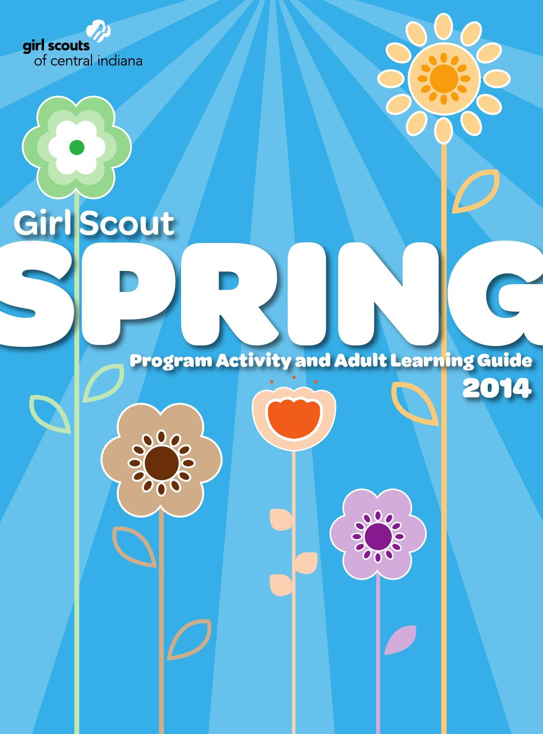 spring program guide by girl scouts of central indiana   issuu