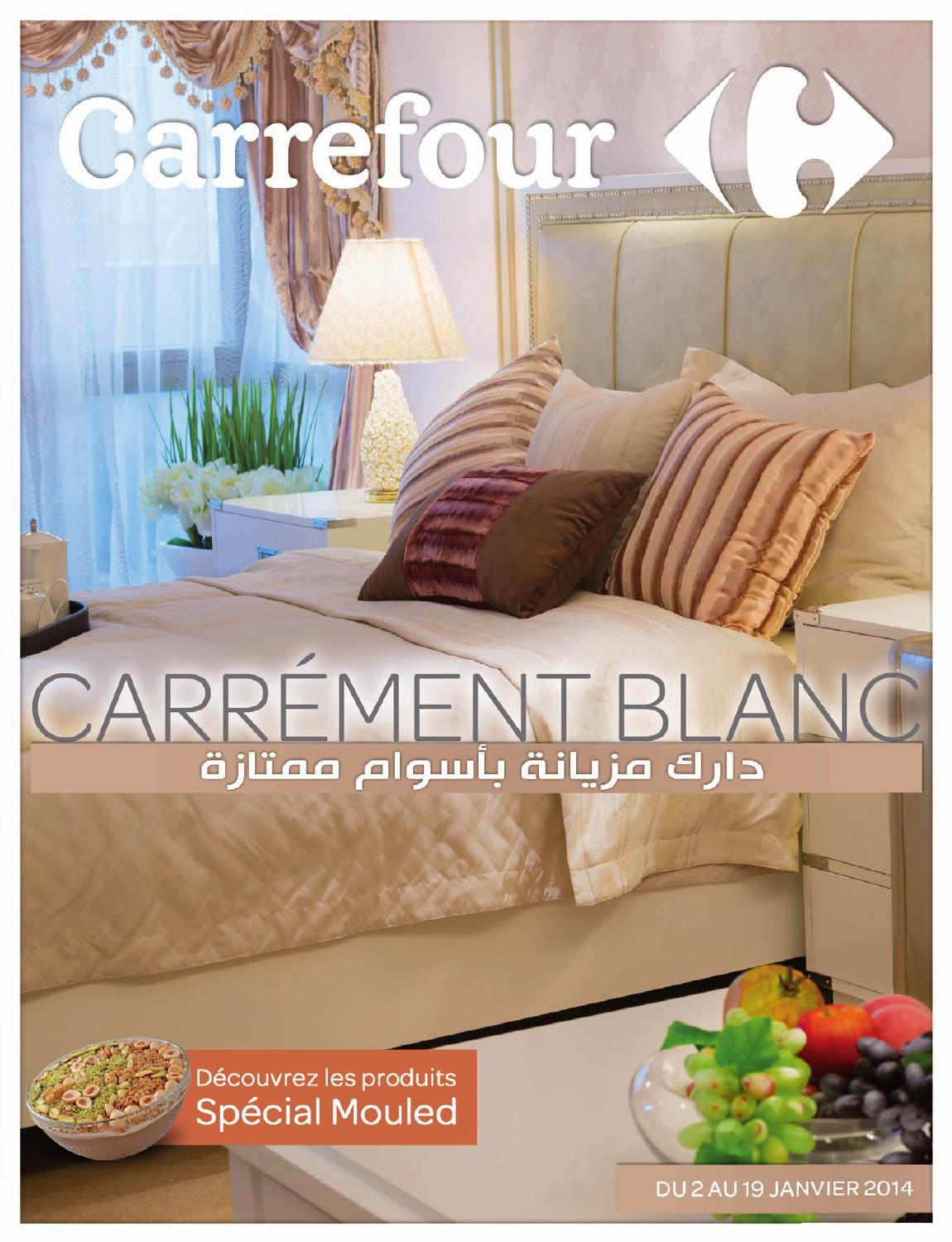 Catalogue Carrefour Carrement Blanc By Carrefour Tunisie Issuu