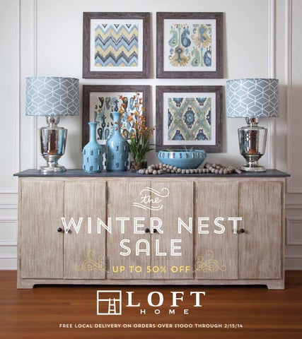 Winter Nest Sale 2014 By Loft Home Issuu