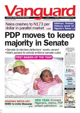 Obasanjo sex scandal punch newspapers