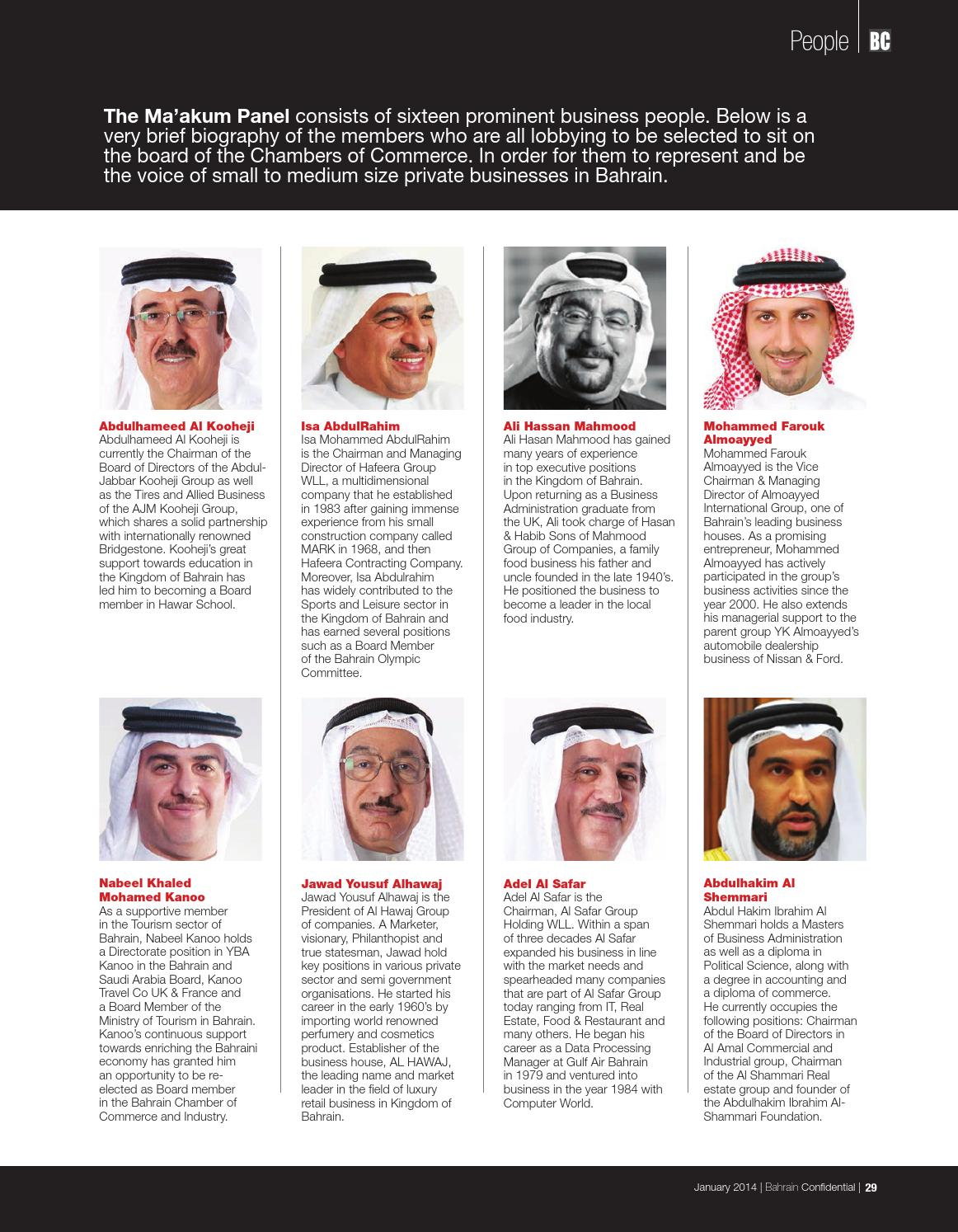 Bahrain Confidential January 2014 by Arabian Magazines - issuu