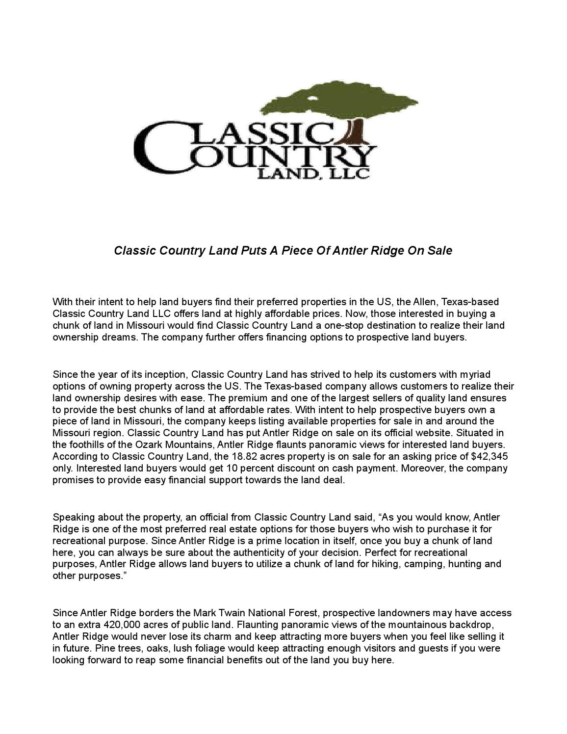 Classicountryland 1 by lori murphy - issuu