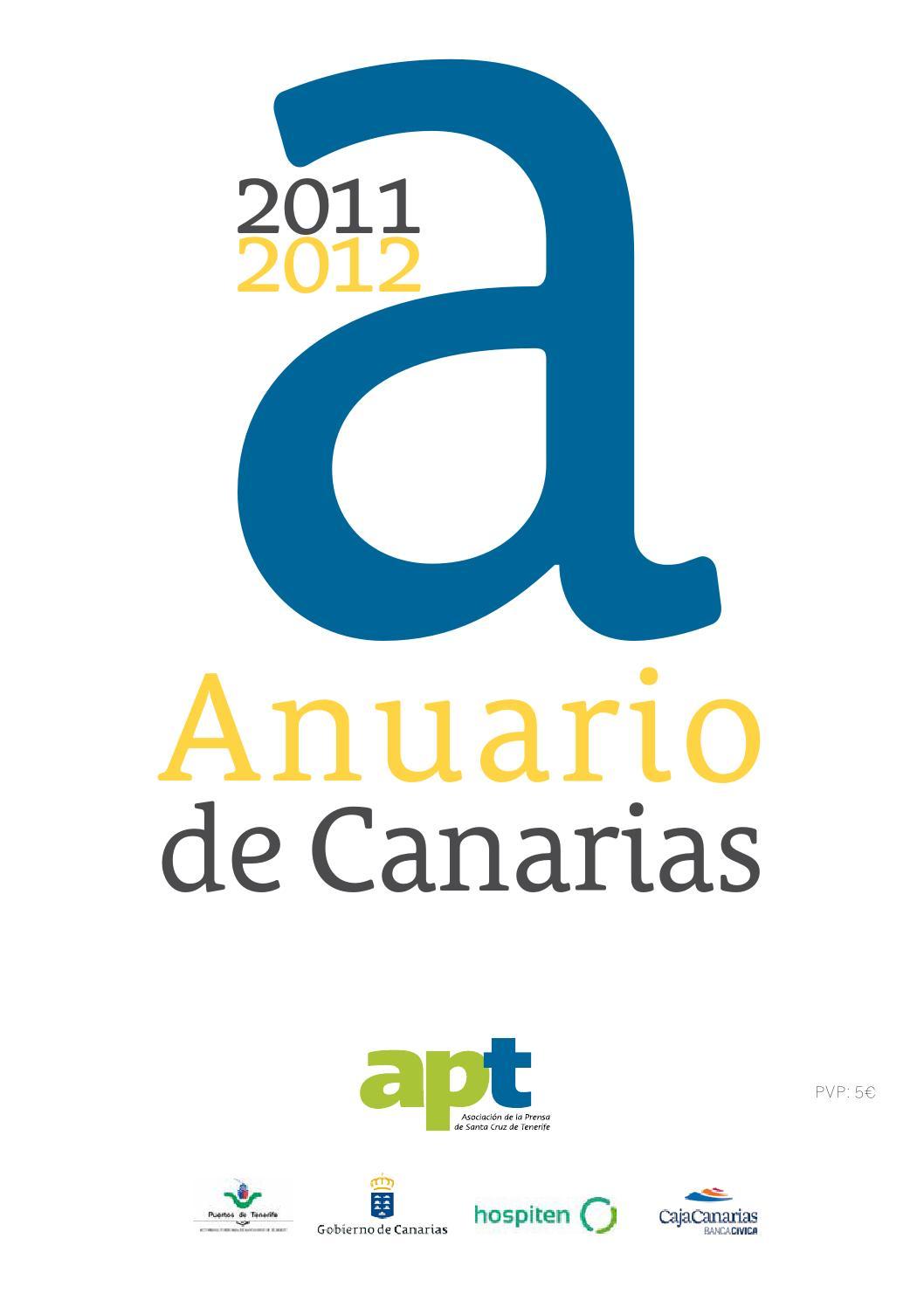 Anuario de Canarias 2011-2012 by Asociación de la Prensa de Santa ...