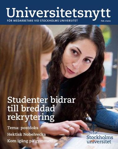 Studentspanare tillganglighetspris till stockholm