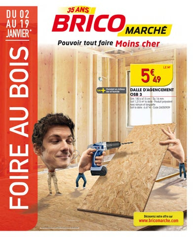 Catalogue Bricomarche 2 19 01 2014 By Joe Monroe Issuu