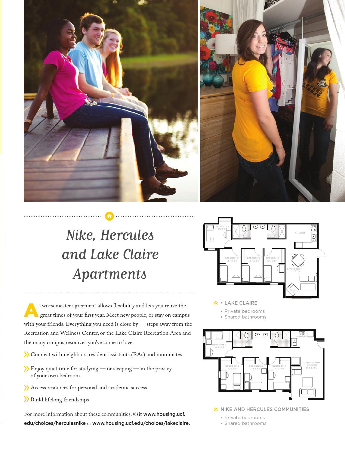 UCF Apartment Living Guide 2014-15 by University of Central Florida