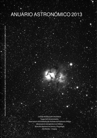 Anuario astronomico 2013 by Juan Olivero - issuu