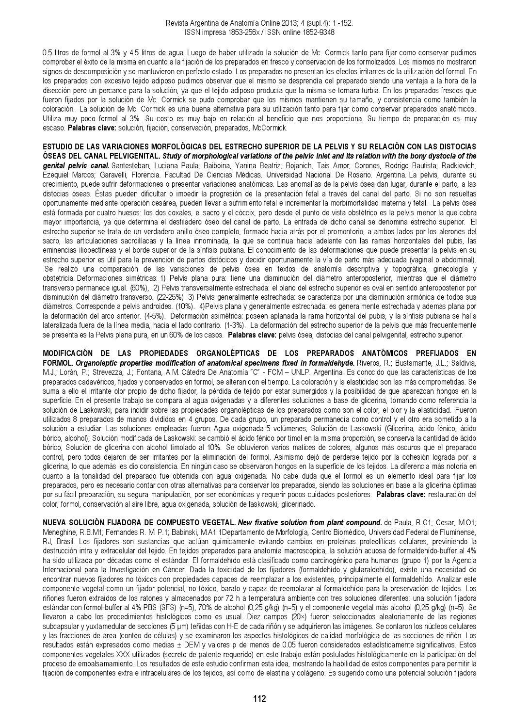 Rev. Arg. Anat. Onl. 2013; 4(supl4):1-152. by Nicolas Ottone - issuu