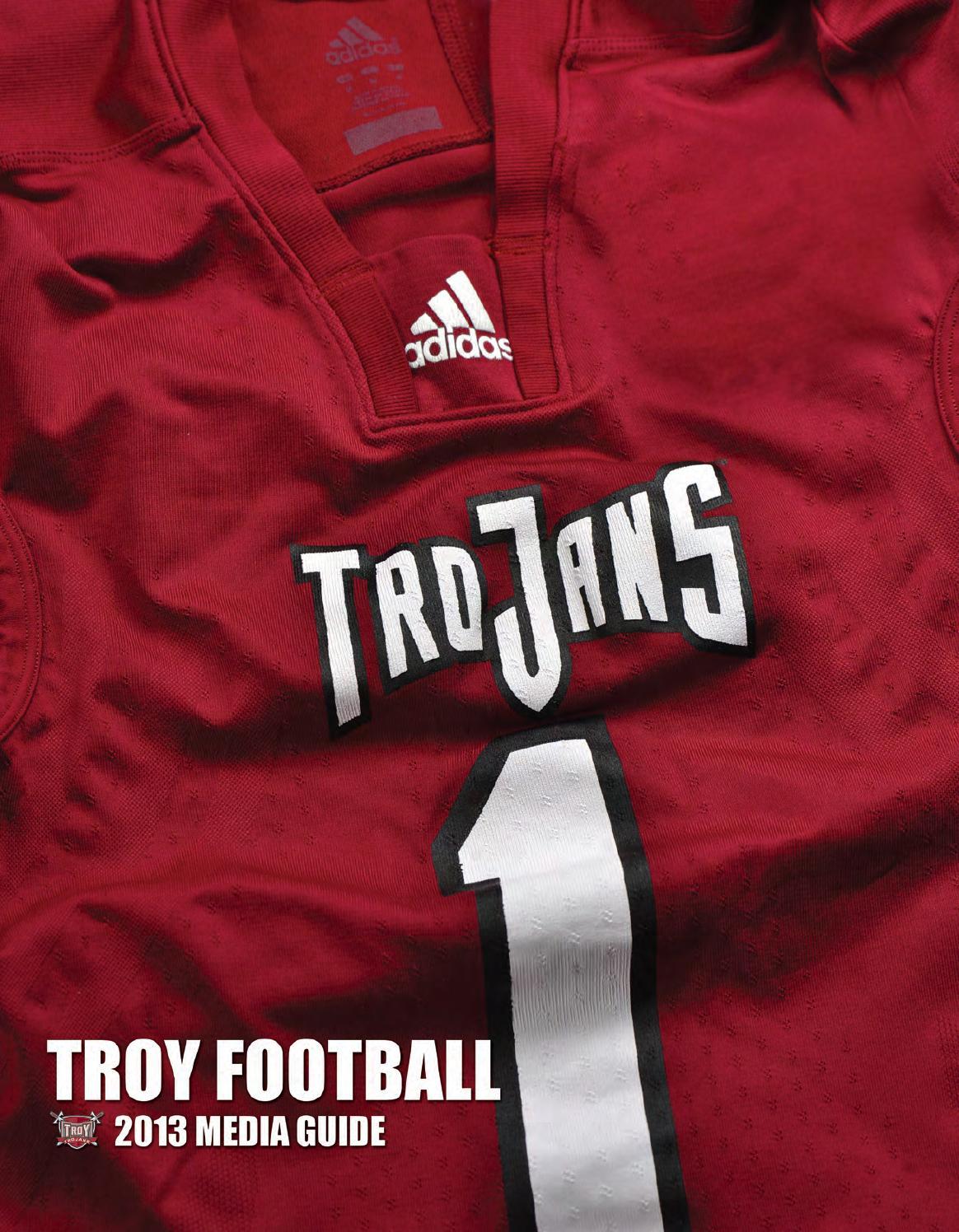 7fc9b07f0 2013 Troy Football Media Guide by Troy University Athletics - issuu