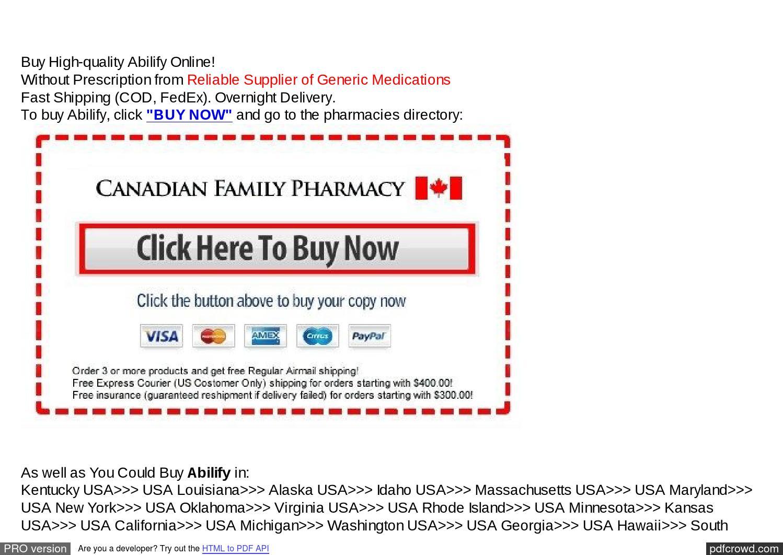 Buy abilify from canada