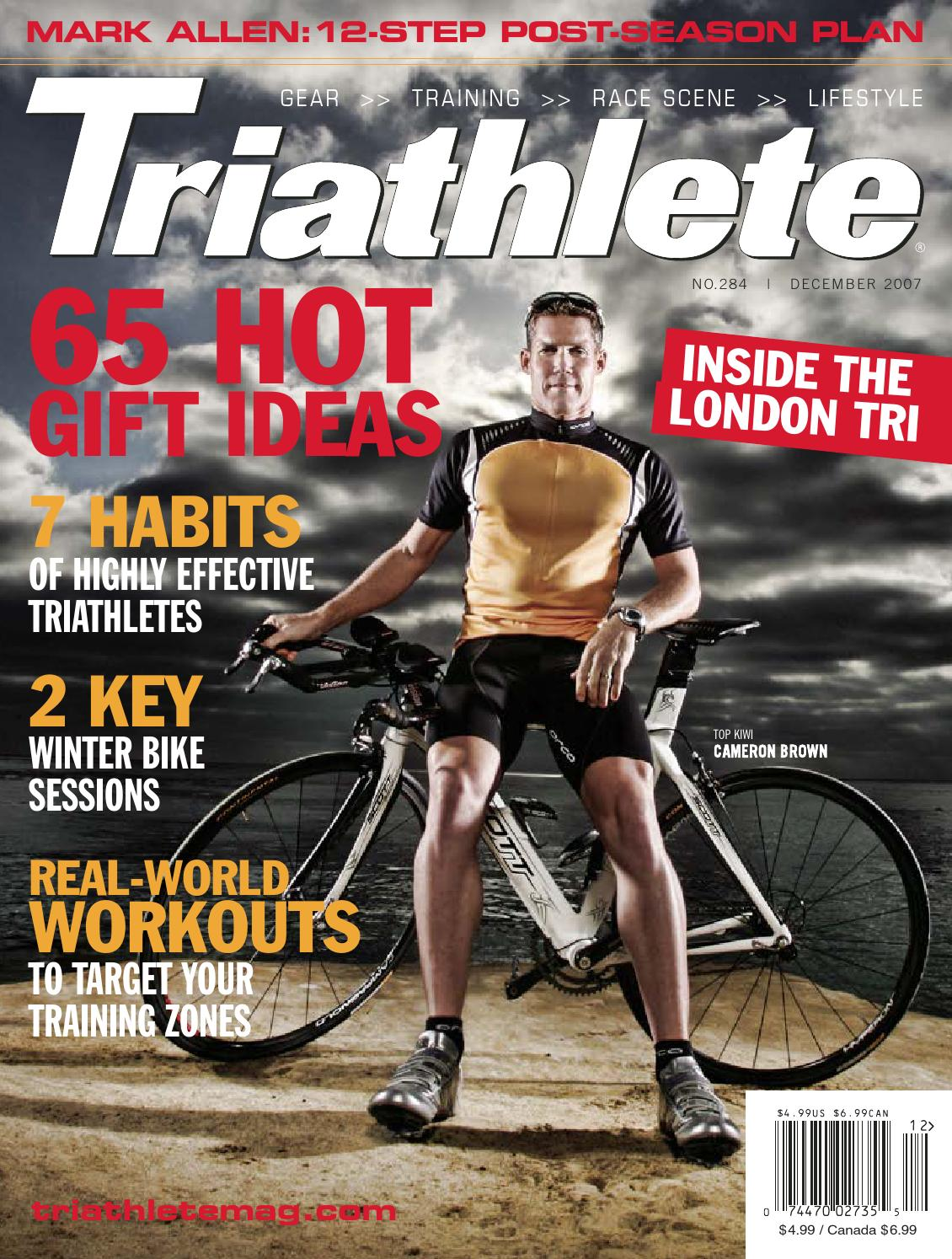 027716bed096 2007-12 Triathlete by Alejandro Piñeiro - issuu
