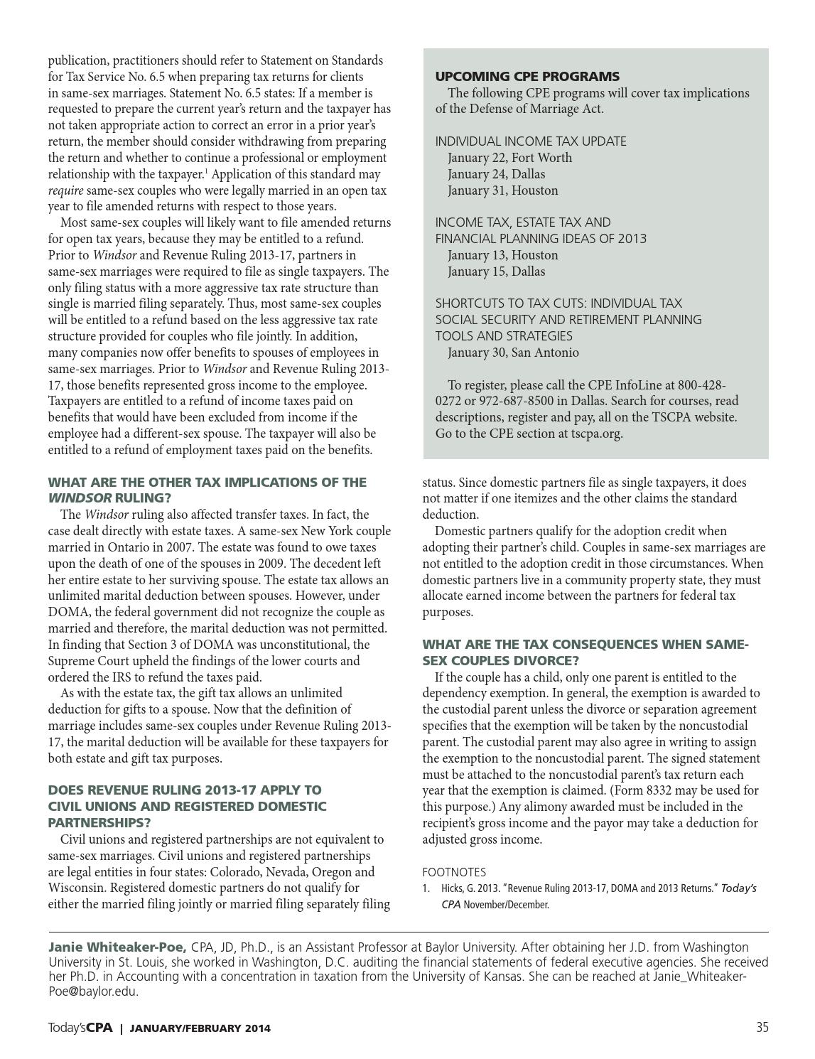 Today\'s CPA Jan/Feb 2014 by The Warren Group - issuu