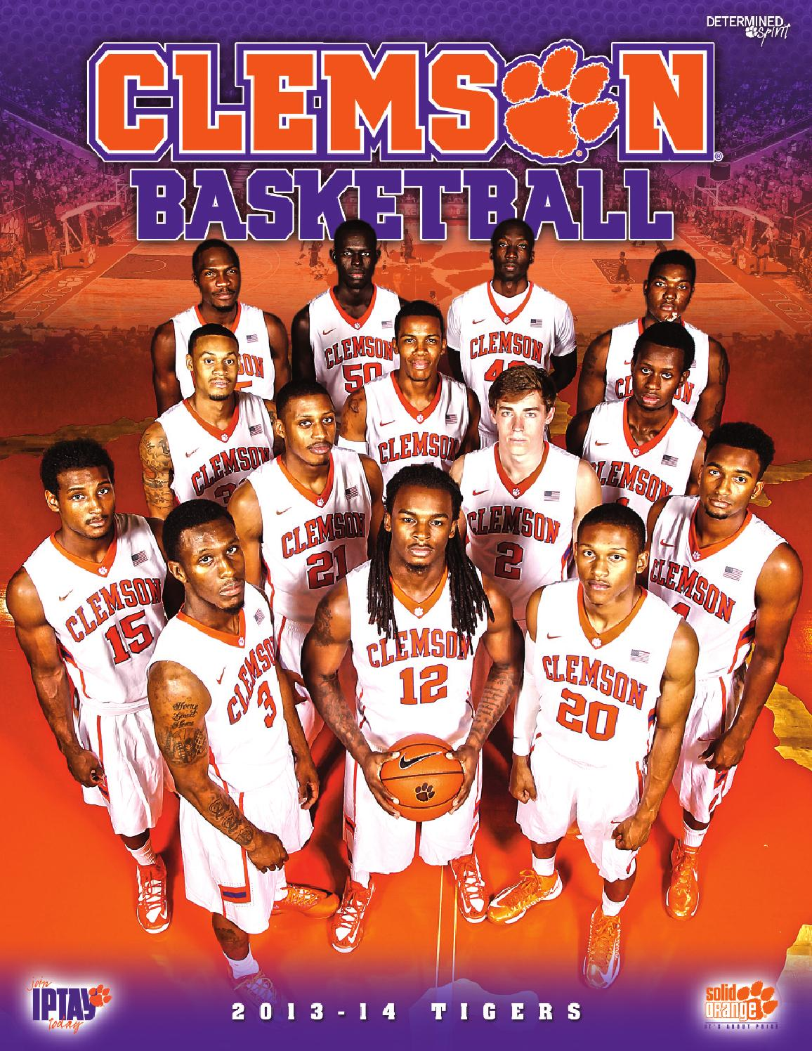 2013-14 Men\'s Basketball Media Guide by Clemson Tigers - issuu