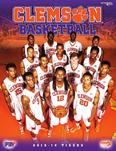 2013-14 Men s Basketball Media Guide by Clemson Tigers - issuu f72d7348c