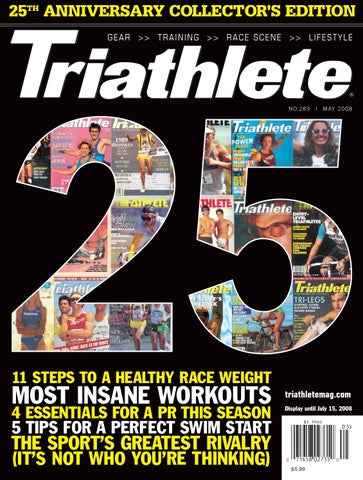 de6735d3d 2008-05 Triathlete - 25th Anniversary Collector s Edition by ...