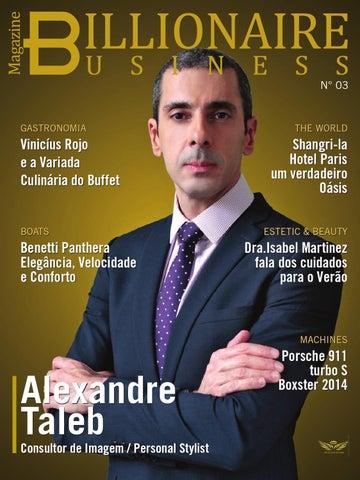 827b280ec12 Billionaire Business 3ª Edição by Billionaire Business Magazine - issuu