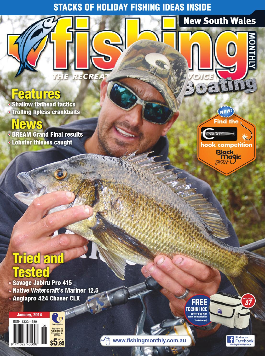 e6cc681e0c New South Wales Fishing Monthly - January 2014 by Fishing Monthly - issuu