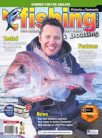 764f6b9db1c0c Victoria and Tasmania Fishing Monthly - January 2014 by Fishing ...