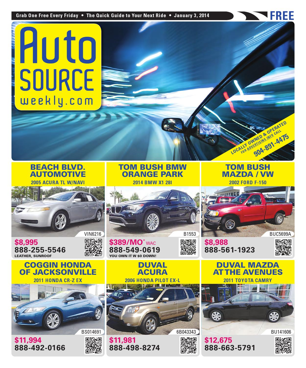 Tom Bush Vw >> Auto Source Weekly by Auto Source Weekly - Issuu