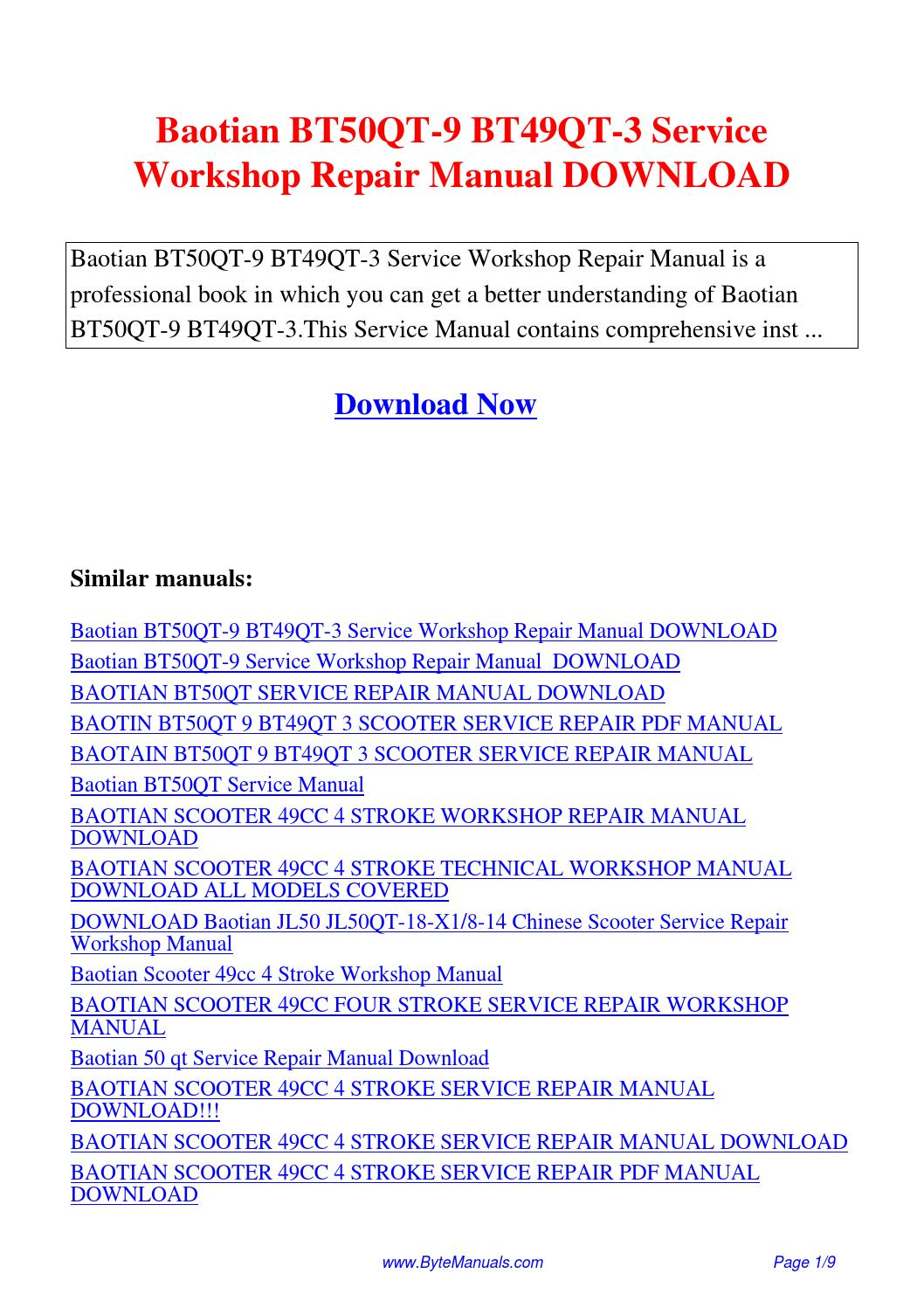 sym symply 50 scooter workshop service repair manual download
