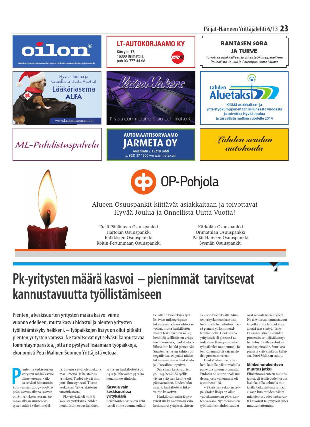 Päijät-Hämeen Osuuspankki