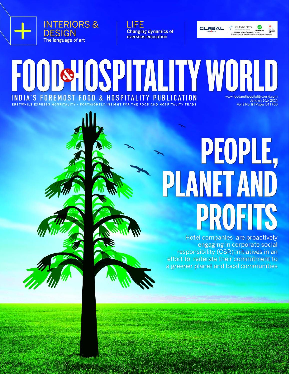 Food and Hospitality World January 1-15, 2014 by Indian Express - issuu