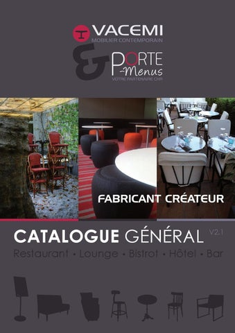 Catalogue MOBILIER CHR Vacemi v 2 1 by Laurent Vacrate - issuu 60ed30cec5b1