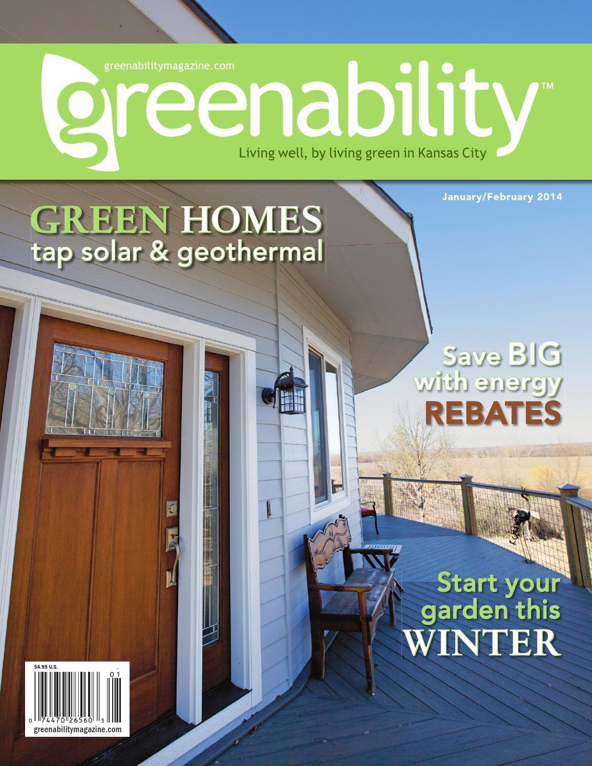 Jan Feb 2014 By Greenability Magazine