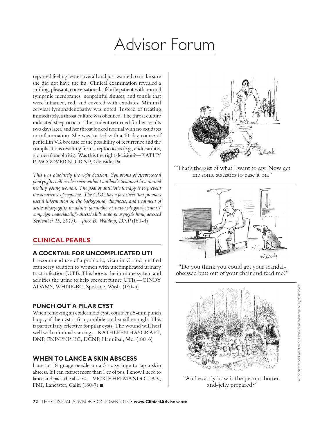 October 2013 Clinical Advisor by The Clinical Advisor - issuu
