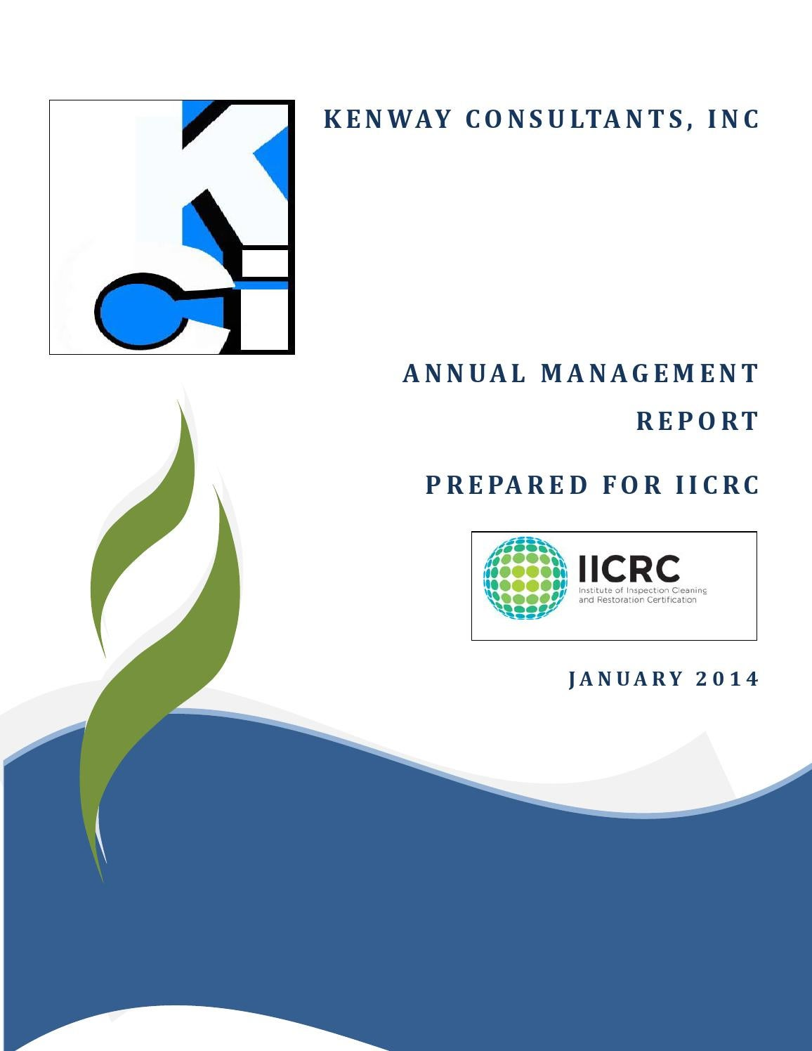 2013 12 27 Draft Kci Annual Report By Valeriefrieswade Issuu